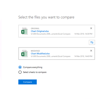 Workshare Compare for Excel