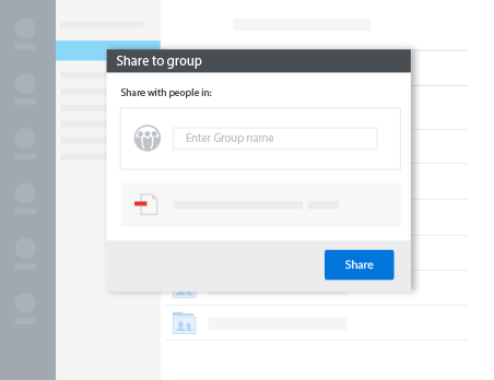 Share and collaborate securely