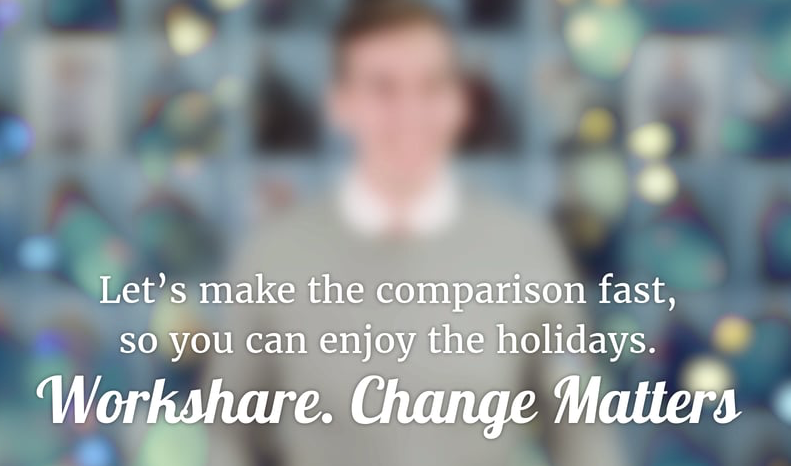 Workshare Compare #ChristmasMatters