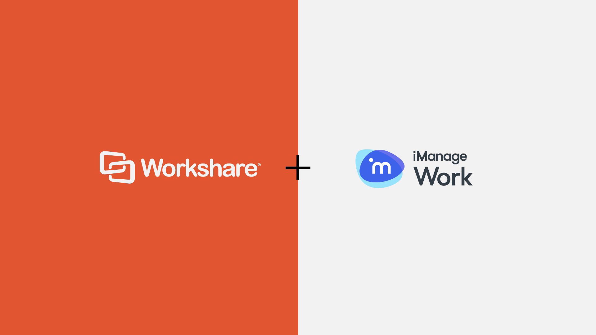 Workshare Compare, embedded in iManage Work 10