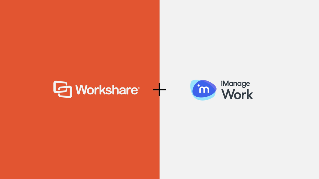 Webinar 1 - How is Workshare Compare relevant in iManage Work 10?