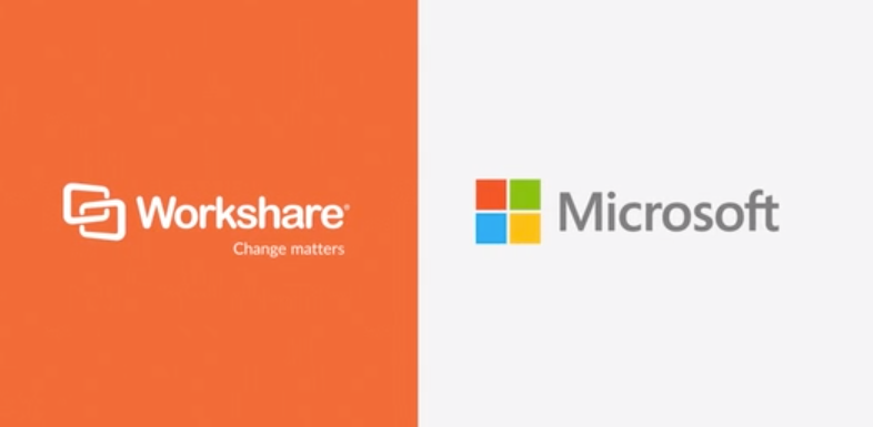 Workshare Secure integrated with the Microsoft environment