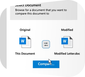 Document Comparison, Metadata Removal and File Sharing
