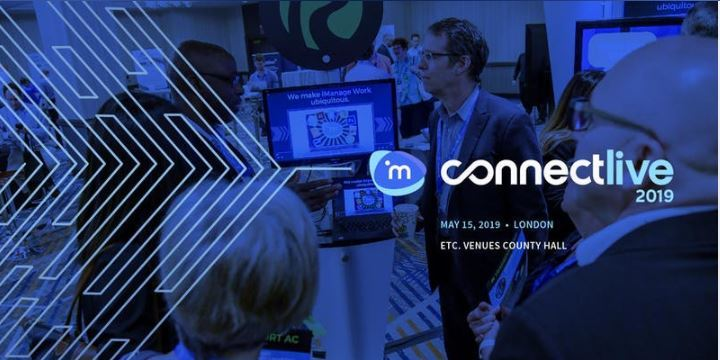 iManage ConnectLive London & Europe 2019