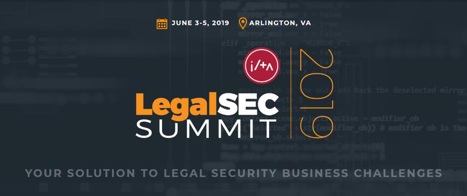 LegalSEC Summit 2019