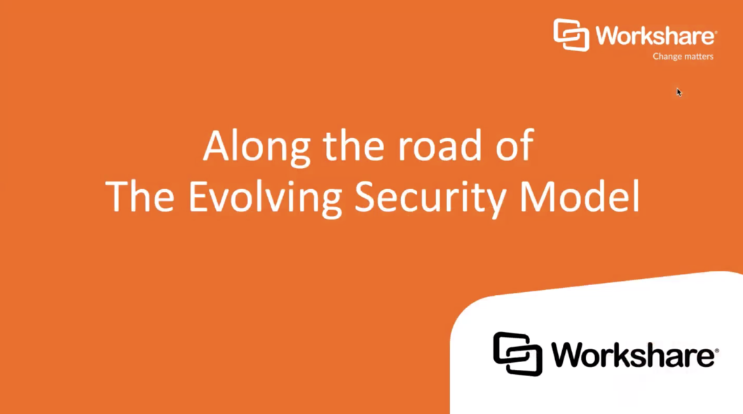 Along the Road of The Evolving Security Model