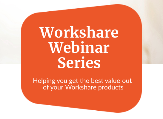 Get the best out of your Compare product in Workshare 10