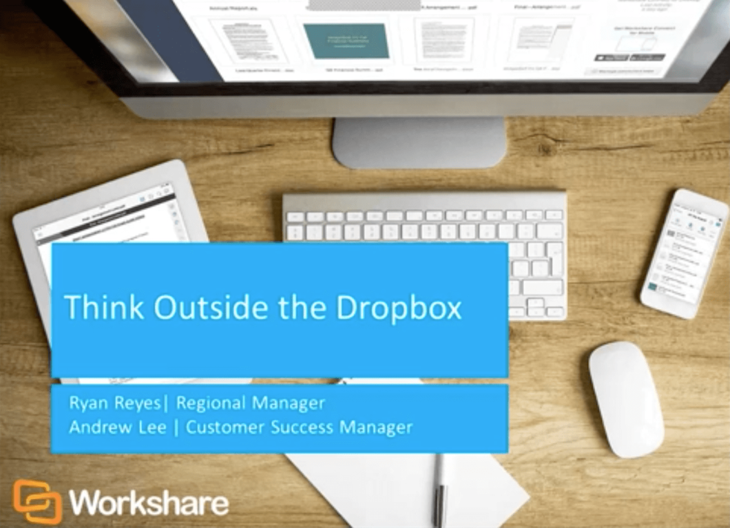 Think Outside the Dropbox