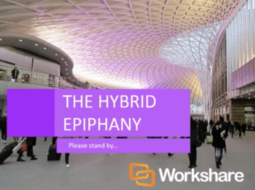 Three Key Drivers & The Hybrid Epiphany
